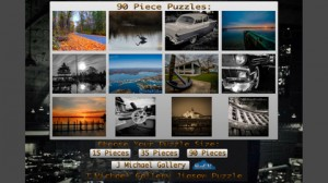 J Michael Gallery Jigsaw Puzzle iPhone App