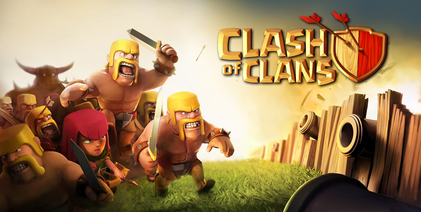 Clash of Clans iPad app