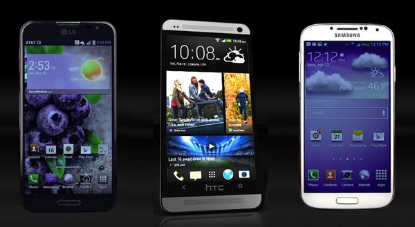 2013 android top 10 Top10 Best Android Phones for 2013