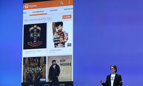 How did Google beat Apple to a music streaming service?