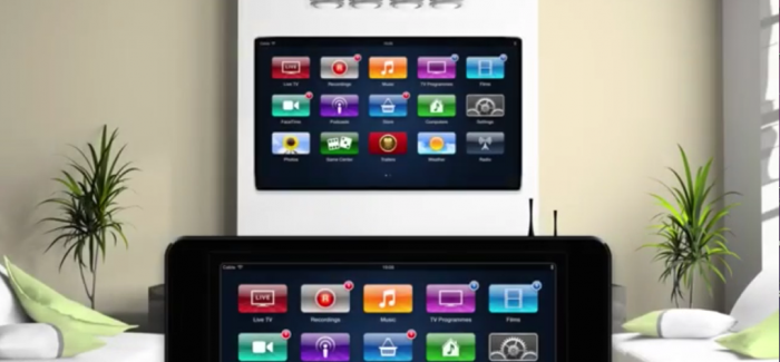Apple TV Concept Employs iPad Controller