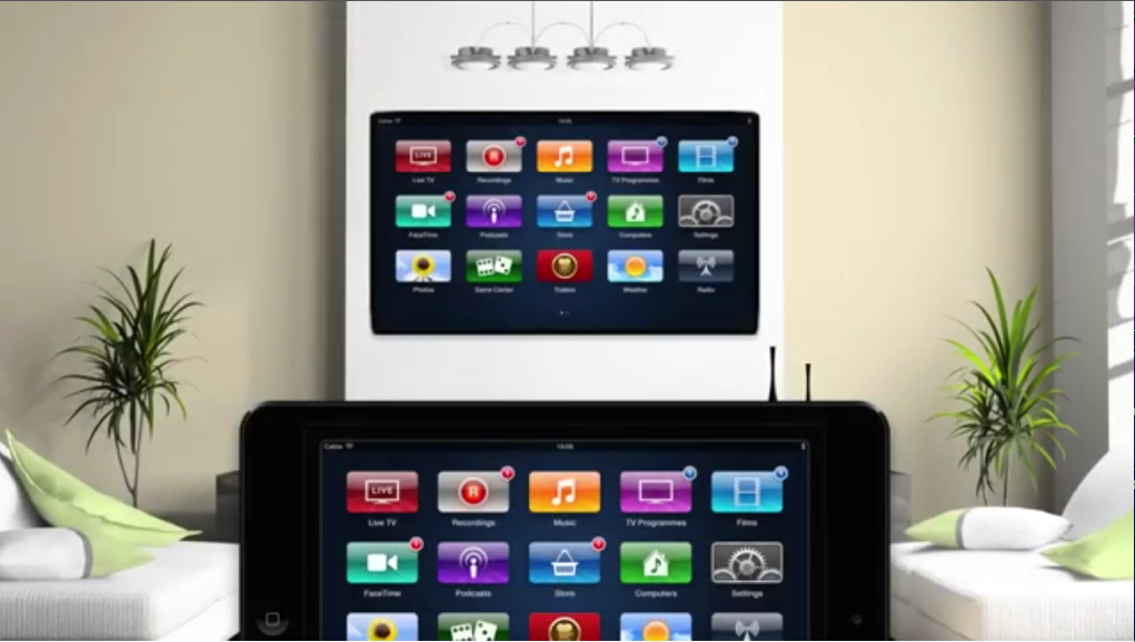 Sam Beckett Apple TV Concept Apple TV Concept Employs iPad Controller