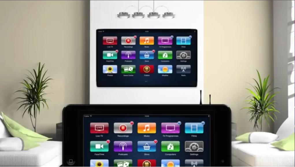 Apple tv Concepts Apple tv Concept Employs Ipad