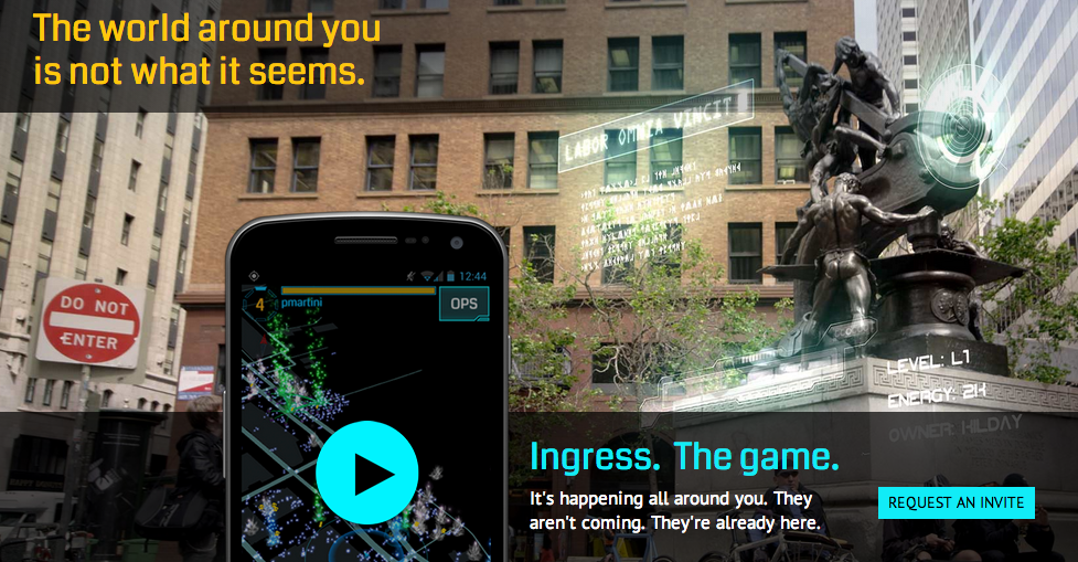 ingress invite