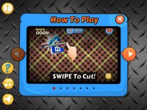 Cut My Apps HD iPad Game