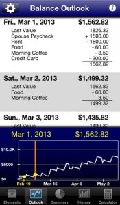 Budget Boss iPhone App