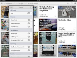 Erudito News Reader iPad App