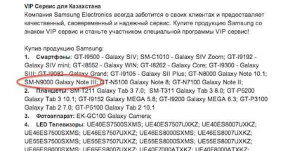 Samsung Kazakhstan Site Confirms Galaxy Note 3