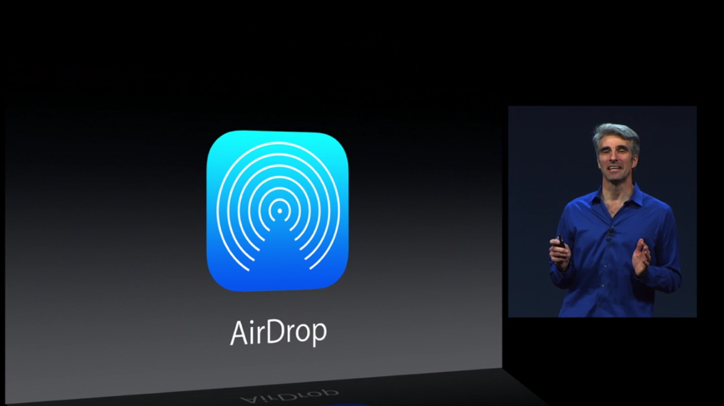 iOS 7 Adds AirDrop File Sharing