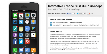 iOS7 Concept by Steve King Places New OS At Your Fingertips