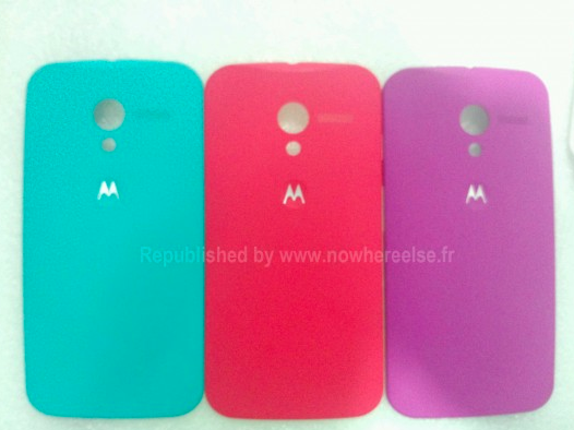 Moto X Backplate Colors