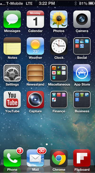 T-Mobile LTE Spotted on A Factory-Unlocked iPhone 5