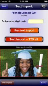 Language Trainer iPhone App