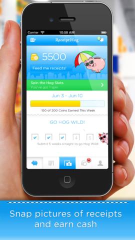 Receipt Hog iPhone App
