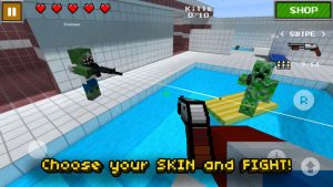 screen568x56828 300x169 Pixel Gun 3D iPhone Game Review: Killer Battles, Awesome Skins
