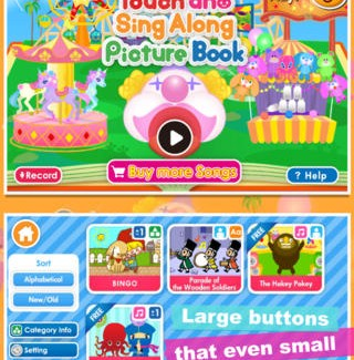 Touch 'n Sing iPhone App Review: A Wonderful App for Kids