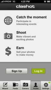 screen568x56857 169x300 Clashot iPhone App Review: Sell Your Photos for Cash!