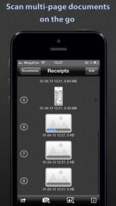 SharpScan iPhone App