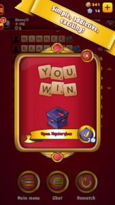 King of Words iPhone Game