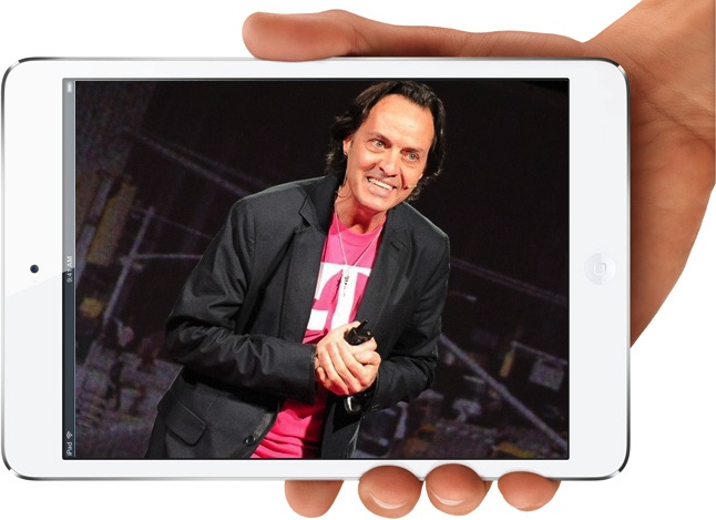 T-Mobile CEO John Legere's strategy has proven very successful and more is coming this Fall, including more Apple products. Does that mean the iPad, iPad mini?