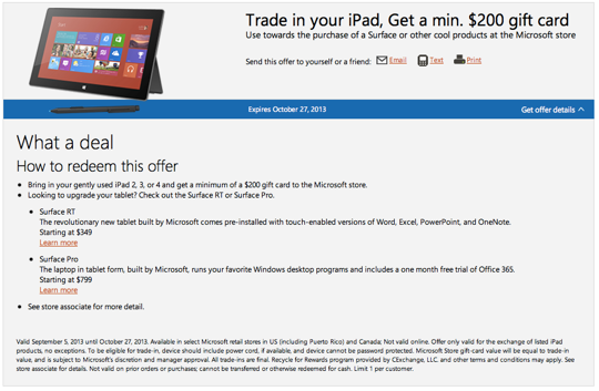 Microsoft-Surface-iPad-Trade-In-Program
