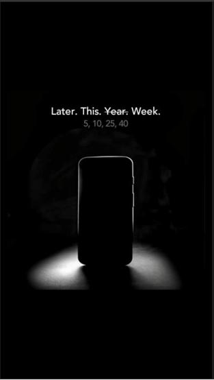 Moto X mystery advertisement