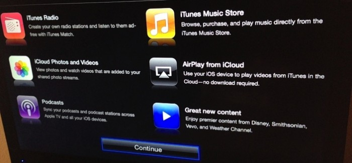 Apple TV 6.0 Adds iTunes Radio, Podcast Sync, Shared Photo Streams