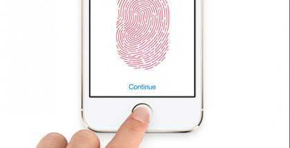 iPad Mini 2 Touch ID screen