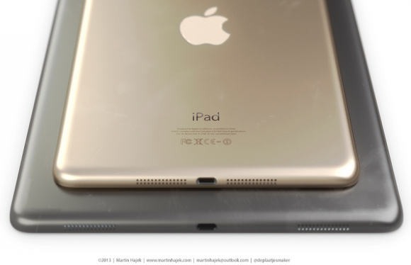 ipad 5 space gray ipad mini gold iPad 5, iPad mini 2: Three Colors Coming