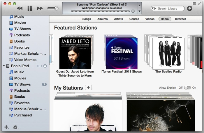 iOS 7, iTunes 11.1 Now Available for Download