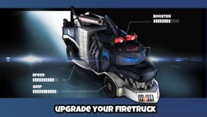 Fire Truck 3D iPhone Game