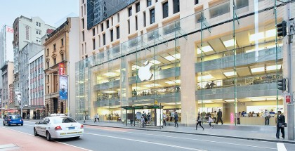 Apple store in downtown Sydney; New South Wales, Australia