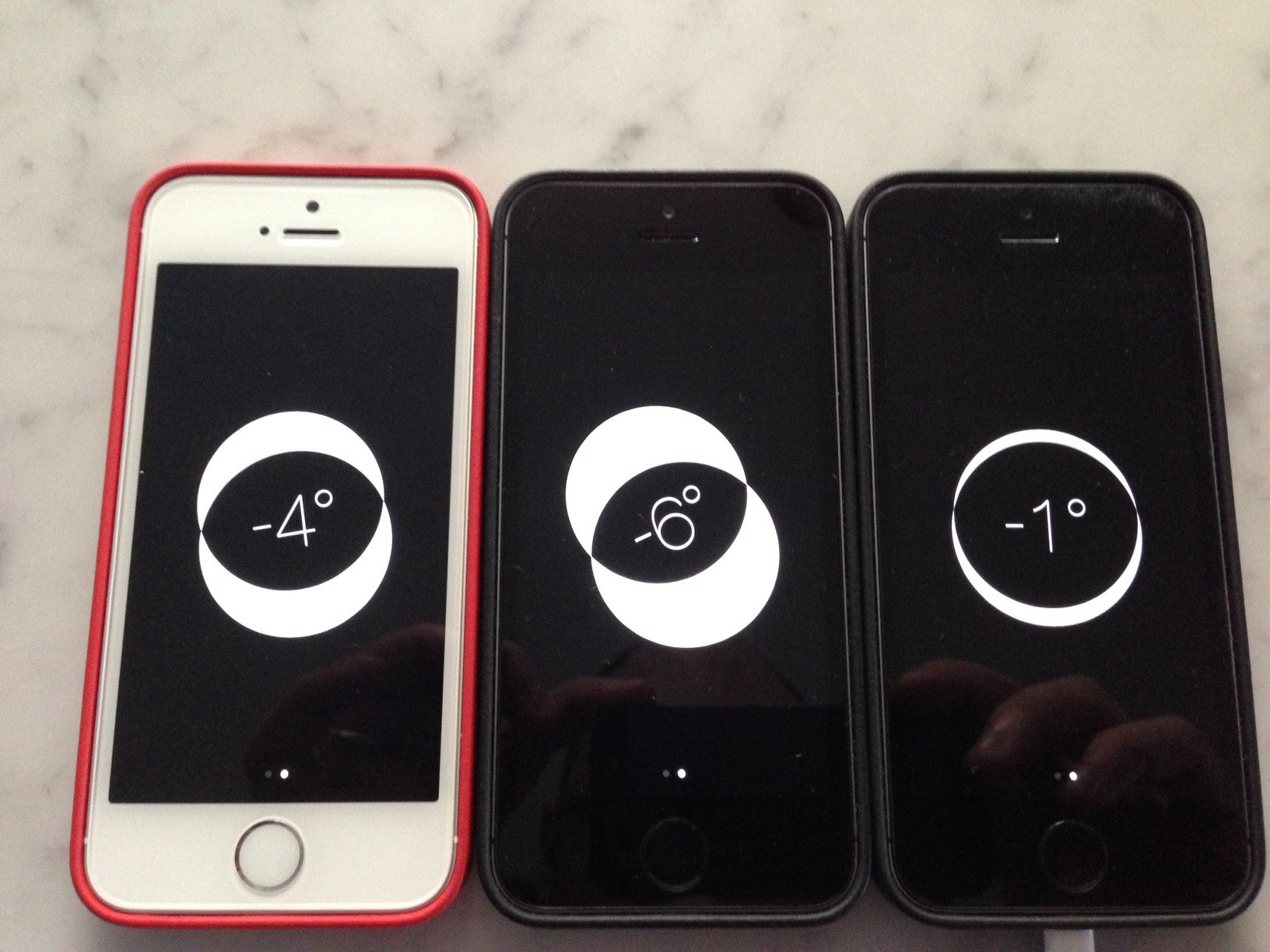 iphone 5s compass