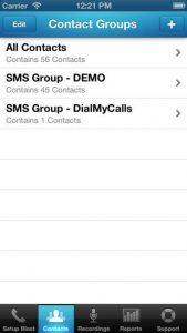 DialMyCalls iPhone App