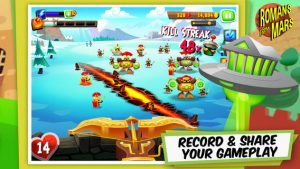Romans From Mars iPhone Game