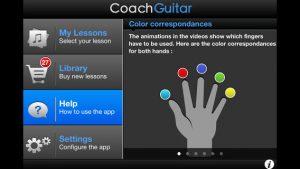 Coach Guitar iPhone App