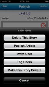 Follow My News iPhone App