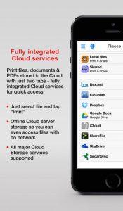 Print n Share iPhone app