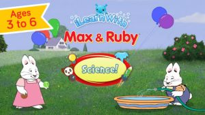 Max & Ruby Science Educational Games iPhone app