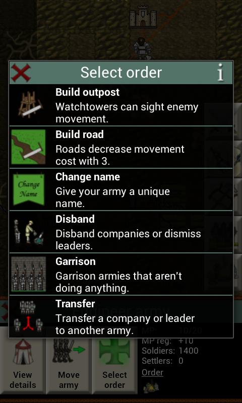 Army orders