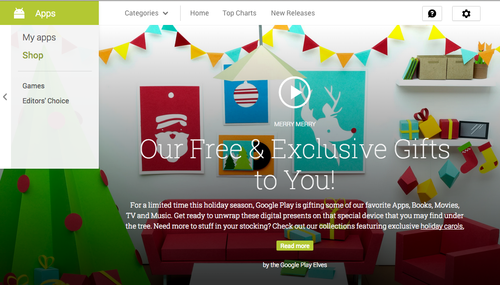 Google Play Offers and Deals Google Play Store Offers Free Movie, Christmas and Other Songs