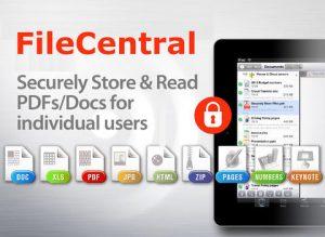 FileCentral iPad App
