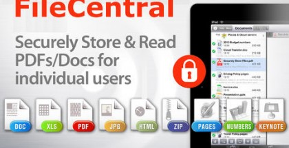 FileCentral iPad App