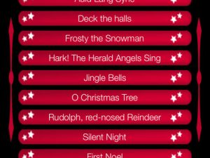 Christmas Carols Piano iPad App