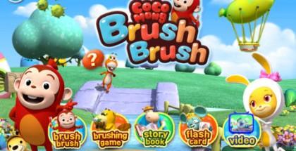 Brush Brush Cocomong iPhone App