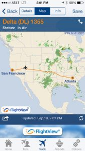 FlightView Free iPhone App