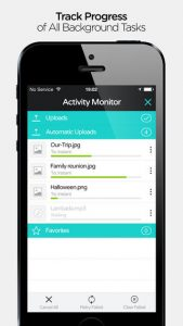 pCloud iPhone App