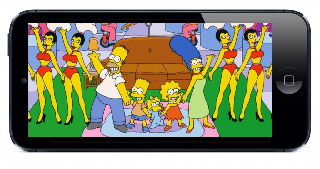 The Simpsons app is coming! The Simpsons app is coming in August, but only for iPhone and iPad users. But, wait… there is more!
