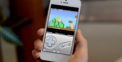 Nostalgic iPhone Gameboy