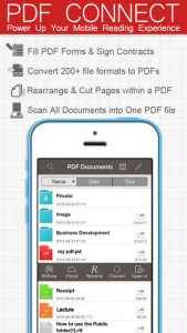 PDF Connect iPhone App